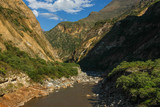 Apurimac River in Vilcabamba range of the Andes Mountains, Peru