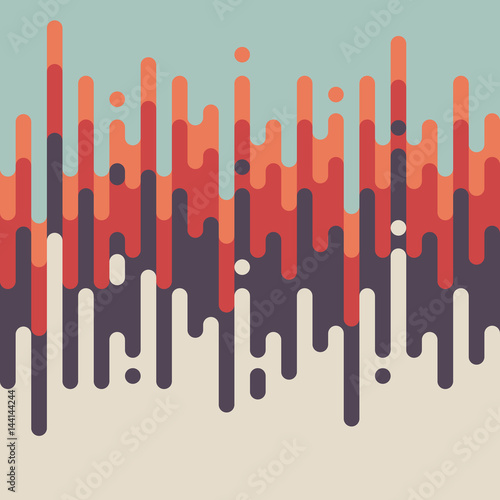 Abstract retro vintage line pattern background