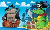 Pirate crocodile theme 4