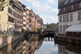 The neighborhood of Petite France in Strasbourg - Alsace - France