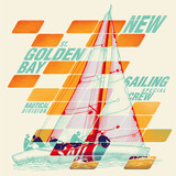 Graphic sailing - 144204636
