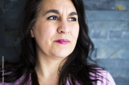 Shot of a beautiful mid adult woman smiling Poster