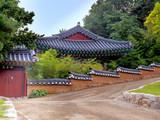 The building in Bongeunsa temple in Seoul, South Korea