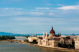 Budapest - view from Royal Palace Hill on Parliament