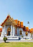 Exterior of Marble Temple (Wat Benchamabophit), Bangkok, Thailand