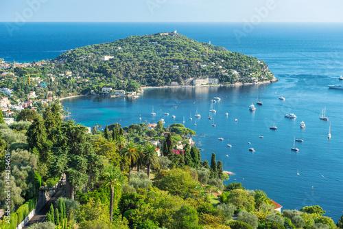 Papiers peints Nice Turquoise Mediterranean sea blue sky Summer holidays