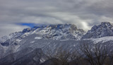 snow-capped Rocky Mountains