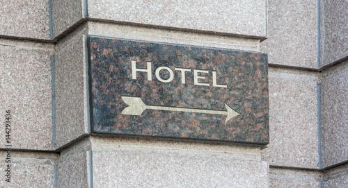 Schild 204 - Hotel