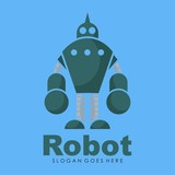 Robot icon and illustration vector