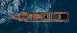 Schiffsansicht aus der Vogelperspektive