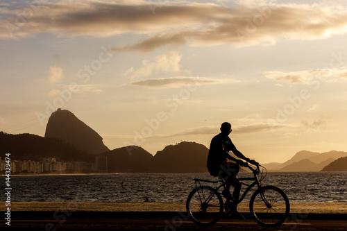 Fotobehang Rio de Janeiro Rio de Janeiro, Copacabana beach