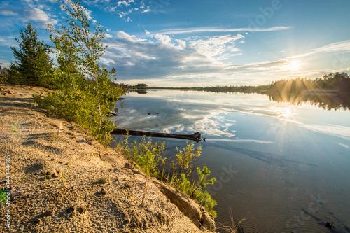 Beautiful landscape of Siberia