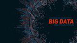 Big data circular visualization. Futuristic infographic. Information aesthetic design. Visual data complexity. Complex data threads graphic visualization. Social network representation. Abstract graph - 144347603
