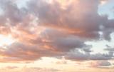 Beautiful pastel cloudy sunset - 144365287