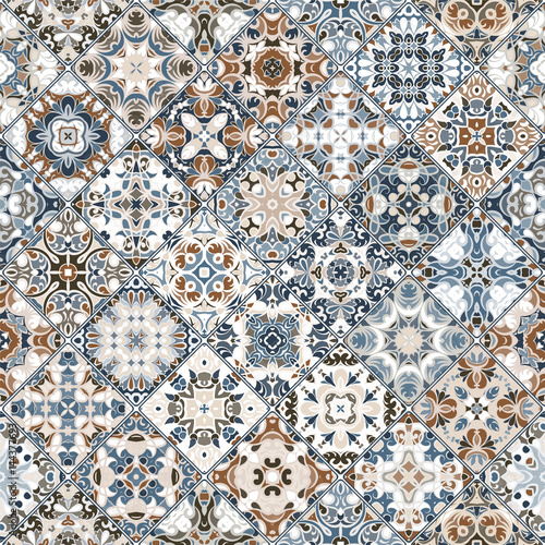 Abstract patterns in the mosaic set. - 144377693