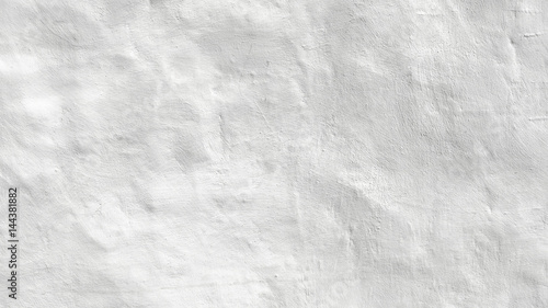 White old stucco wall  background