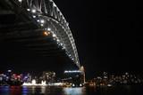 The bridge of Sydney by night