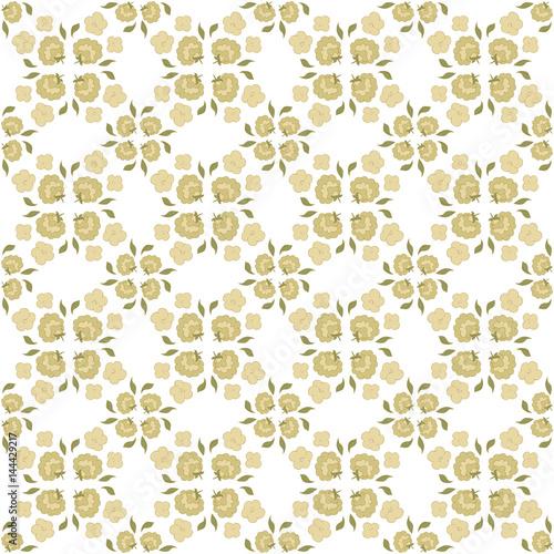 floral vintage background - 144429217