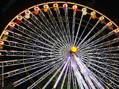 Riesenrad bei Nacht!