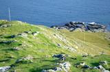 Rocky Coastline on the Isle of Skye in Scotland