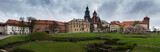 Panorama of Wawel Royal Castle in Cracow, Poland