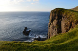 Amazing Towering Sea Cliff at Neist Point in Scotland