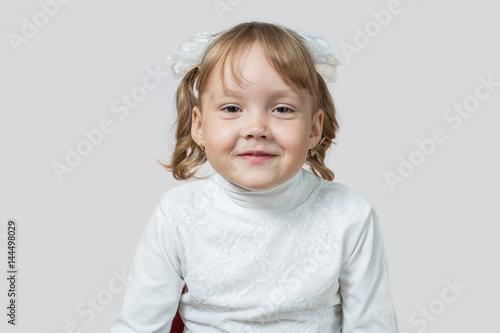 Little girl smiling Poster