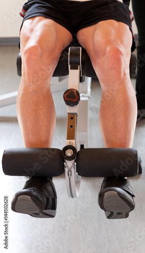 Muskelaufbau-Training Im Fitnessstudio