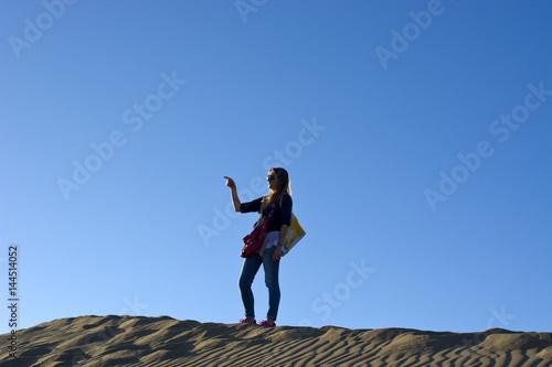 Adventure in the desert Poster