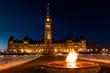 Parliament of Canada in Ottawa Winter