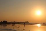 Sunset Sunsets Orange Sun Ocean Wave Waves Water Refletion Burma Burmese Myanmar Asia Asian Southeast