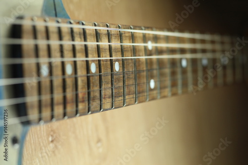 Poster Electric guitar close up shot