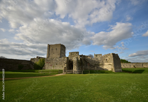 Portchester Castle Portsmouth Harbour Hampshire UK Poster