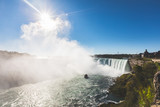 Niagara Falls panoramic view from Canada side