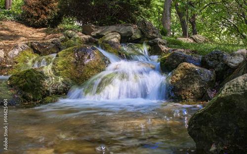 Stream running over the rocks - 144625404