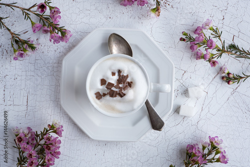 Foto op Canvas Chocolade Cappuccino