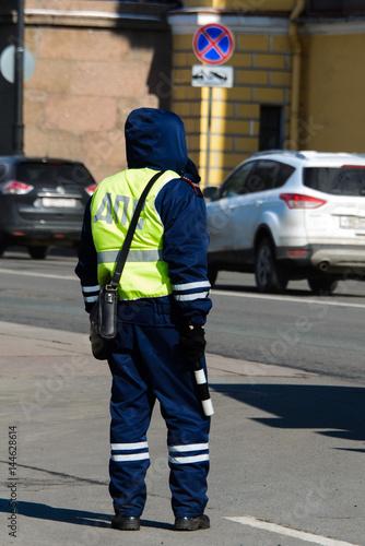Foto op Aluminium Beijing Police inspector