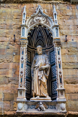 Poster Orsanmichele, Heiliger Markus