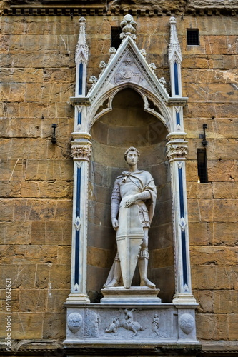 Poster Orsanmichele, Heiliger Georg