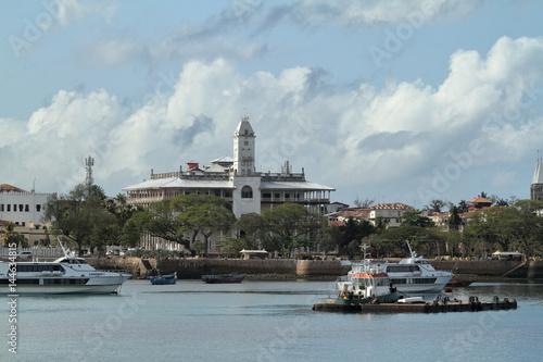 die Skyline von Stone Town auf Sansibar