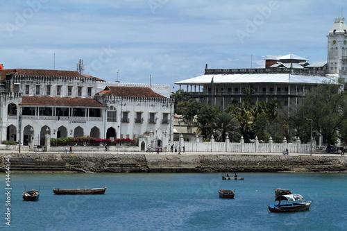 Keuken foto achterwand Zanzibar Sie Skyline von Stone Town auf Sansibar