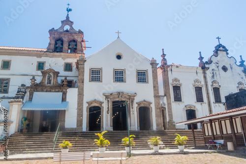 Foto op Aluminium Rio de Janeiro Santo Antonio convent in Rio de Janeiro.
