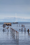 Pier in Punta Arenas, Chile