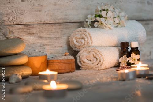 Fototapeta Items for spa