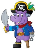 Pirate hippo theme 1