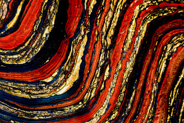 Gem. Abstract  mineral color texture - detail.