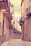 Narrow streets of Monblanc