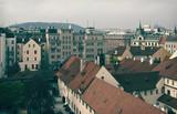 Top vew of Prague