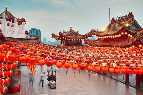 Fotobehang Kuala Lumpur Chinese temple in Kuala Lumpur