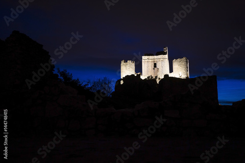 Castle Rocca Calascio, L'Aquila, Italy Poster